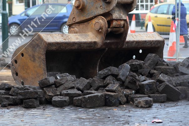 Save Our Setts : More Misery For Locals As Historic Setts Are Ripped Up