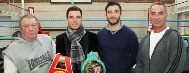 Packing A Punch : Tommy Coyle Visits New Boxing Club In Beverley