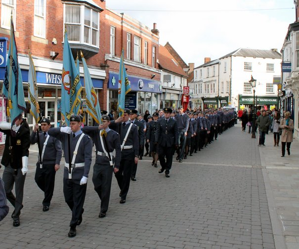 Air Cadets Commemorate Anniversary Of Their Corps Formation