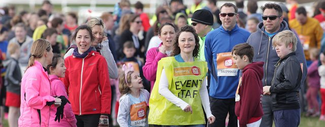 Two Hundred Runners Show Their Support For Sport Relief