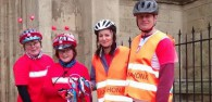 Bloggers from East Yorkshire played their part in raising over £20,000 for Sport Relief as a regional part of a huge UK-wide end-to-end baton relay.