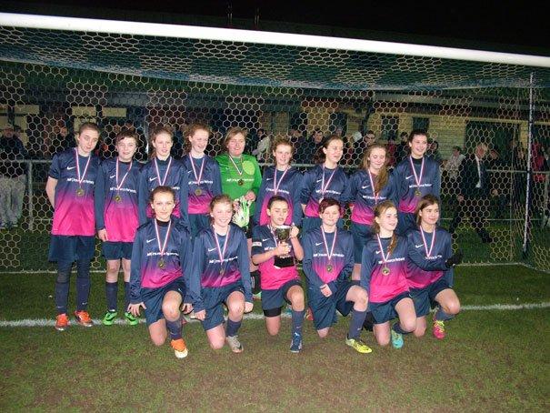 Mill Lane United Win U16s Cup