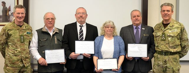 Civilian Staff At Army Base Acknowledged For Long Service