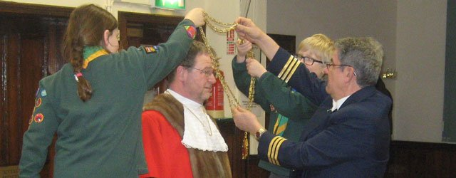 Mayor Of Beverley Martin Cox Visits Beverley Cubs
