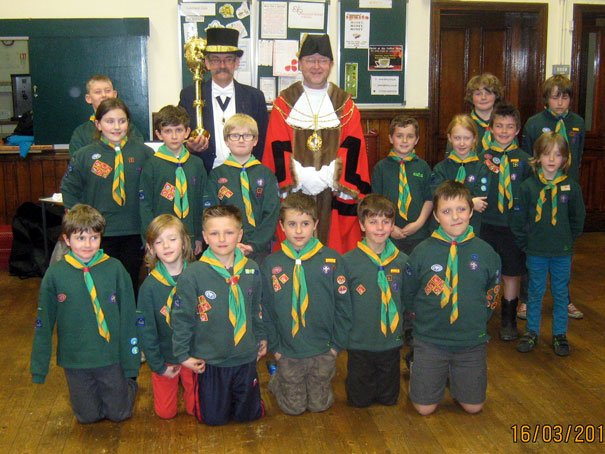 Mayor Of Beverley Martin Cox Visits Beverley Cubs