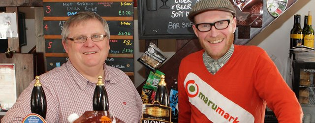 MaruMarket And Chequers Team Up To Bring Cask Ale To Your Door