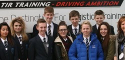 A Beverley based training company has given students a unique insight into careers in the logistics sector.