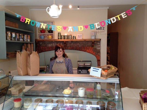 Brownies & Blondies Transforms Into Pop Up Bakery
