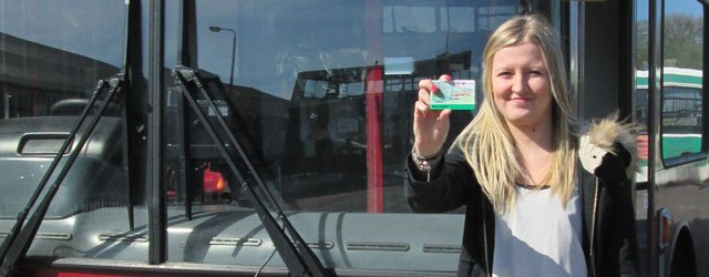 The Go Card, which gives young people 20% off bus fares, is available to anyone aged 16, 17 or 18 in Hull, East Yorkshire and North Yorkshire.