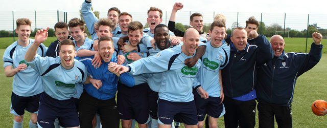 CHAMPIONS : Town Clinch Humber Premier League Title