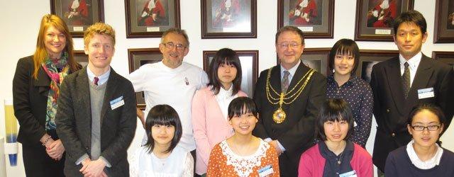 Takaoka Beverley Visit 2014