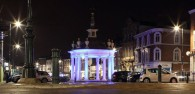 Councillor Welcomes New Lighting Scheme for Market Cross