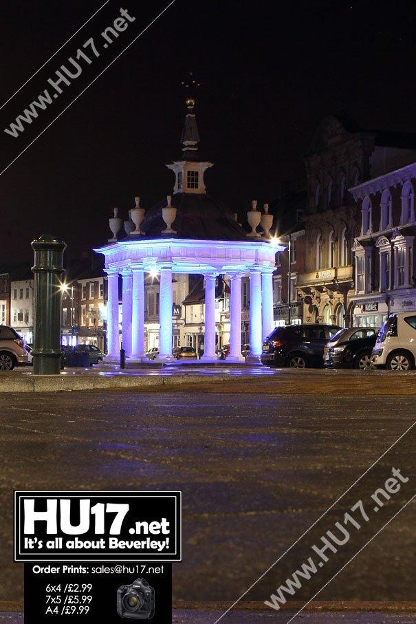 Councillor Welcomes New Lighting Scheme for Market Cross