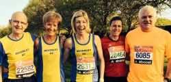 13 Beverley AC members joined over 36000 other runners and one of the strongest ever elite fields last Sunday for the 2014 London Marathon.