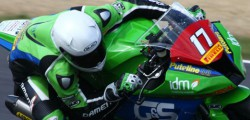 G&S Racing Kawasaki rider Kevin van Leuven secured a strong eighth place on his debut for the team in the first round of the National Superstock 600 championship at Brands Hatch while Dominic Usher finished 18th in the Superstock 1000 class.