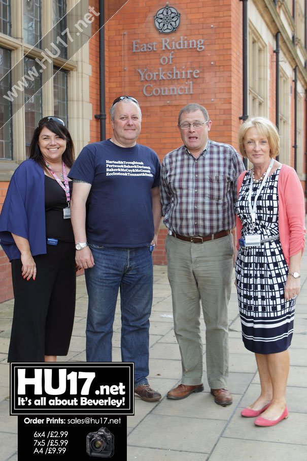 Fit Councillors Support Heart Campaign