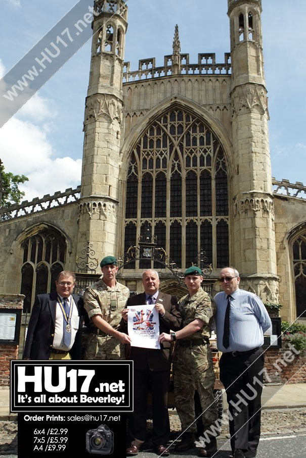 BEVERLEY ARMED FORCES DAY : Specially Written Play To Be Performed At St Mary's
