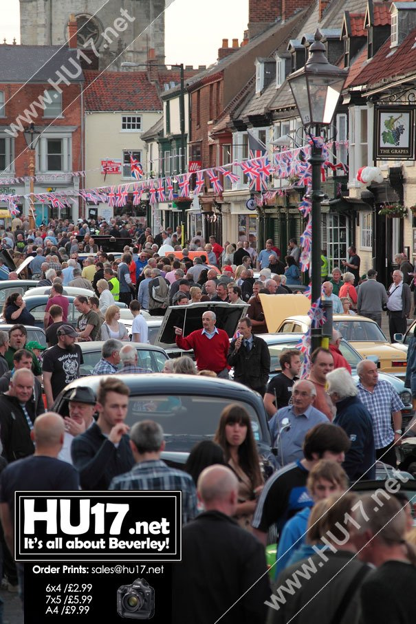 Beverley Classic Car Rally Show Returns To The Town Centre For 2014