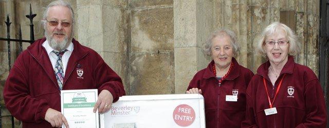 TripAdvisor Triumph for Beverley Minster