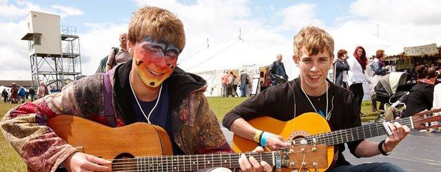 Family Fun At Beverley Folk Festival