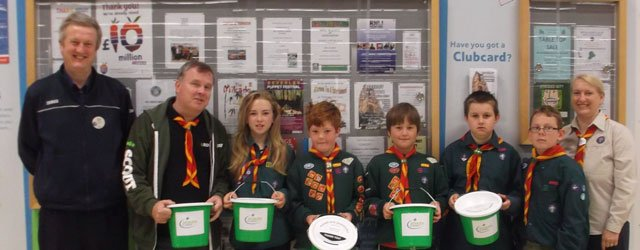 Scouts Tesco Bag Pack Raises £463 For Group Funds
