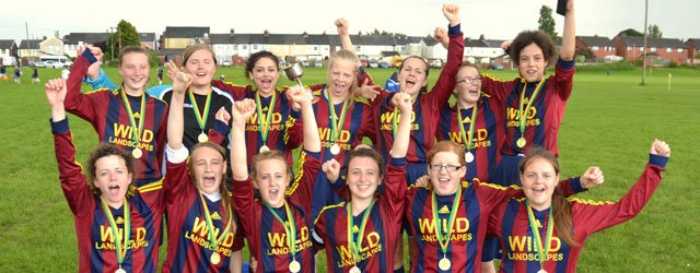 Fourth Time Lucky : United Win Skelmersdale National Girls Cup