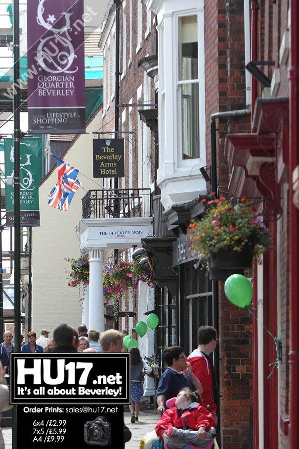 Sharing Heritage: Beverley Georgian Festival Celebrates £8,800 Heritage Lottery Fund Grant