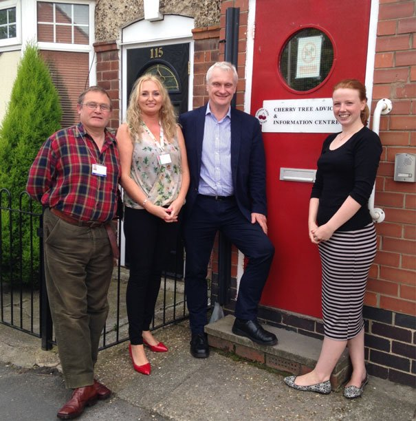 MP's Cherry Tree Drop-in Surgery a Popular Event