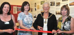 Beverley Community Museum in the Guildhall has been officially re-opened after being refurbished by the chairman of East Riding of Yorkshire Council, Councillor Pat O'Neil.