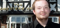 Richard Darvelle the new landlord of the Foresters Arms has pledged his support to this weekend's charity Raft Race.