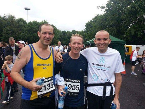 Beverley AC Brave The Rain At The Humber Bridge Half Marathon