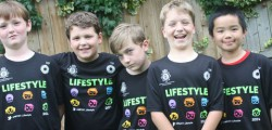 Beverley boys Alex, Hugo, Joshua, Morgan and Tom, taking part in Operation Lifestyle, have raised an amazing £175 at their first two fundraising events.