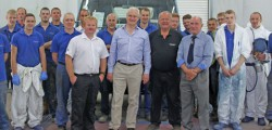 Member of Parliament for Beverley and Holderness, Graham Stuart has visited expanding vehicle body manufacturers, Martin Williams