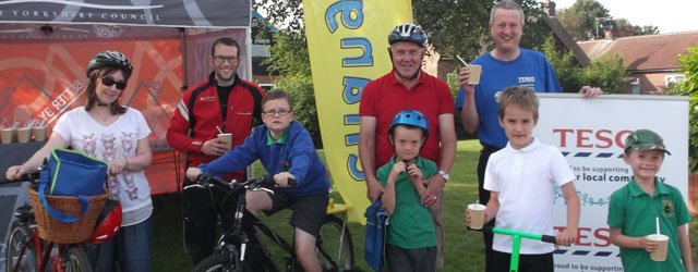 Tesco Partners ERYC To Provide Healthy Bike Breakfasts For Beverley Primary Schools