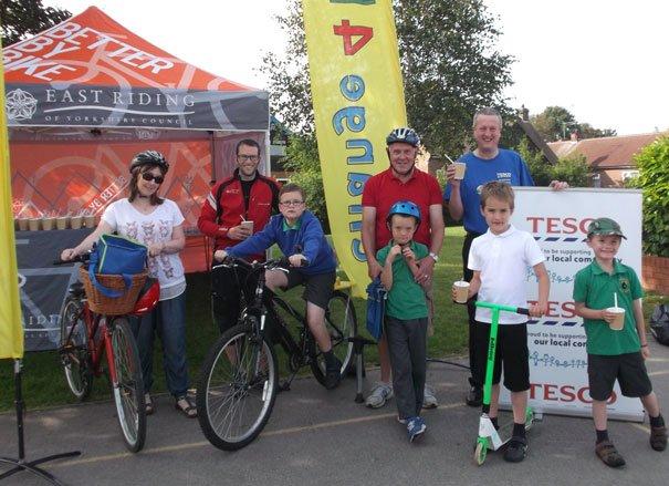 Tesco Partners ERYC To Provide Healthy Bike Breakfasts For Beverley Primary Schools