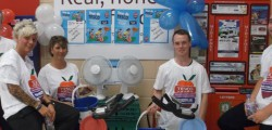 Tesco colleagues at Beverley's store cycled 358 miles (the equivalent of Beverley to Lille) at their Tour de Tesco event to raise £373 for Diabetes UK.