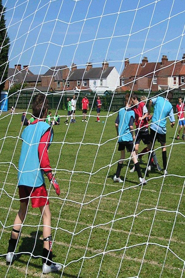 20th Soccer School for Latimer Church.