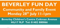 "Children and adults of all ages are encouraged to have ""double the fun"" at two free community events in Beverley."