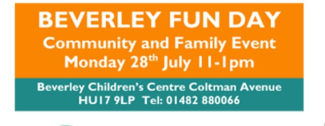 Beverley Communities Invited To Free Double The Fun Events