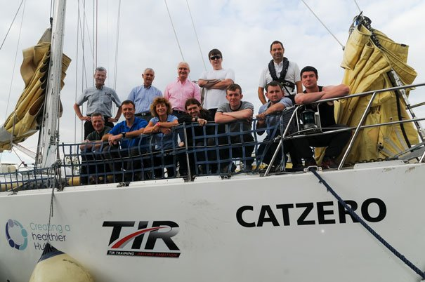 Unemployed Young People Set Sail To A Brighter Future
