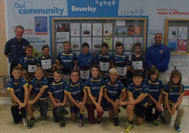 Beverley Braves Thanks Shoppers For Their Generosity