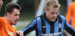 Inter Beaver knocked rivals Beverley Whitestar out of the cup win a 1 – 0 win at Leven playing Fields.