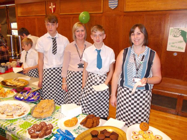 Beverley Grammar School Host Macmillan Coffee Morning
