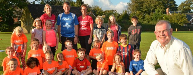 A fitness group which has helped hundreds of adults of all ages and abilities to take up running while having fun has now launched junior sessions for children.