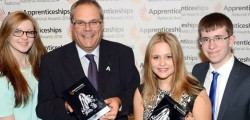 Evie Molloy, an apprentice at Hemingway Bailey Ltd and student at East Riding College, has beaten off competition across the Yorkshire and the Humber region and been named Intermediate Apprentice of the Year 2014
