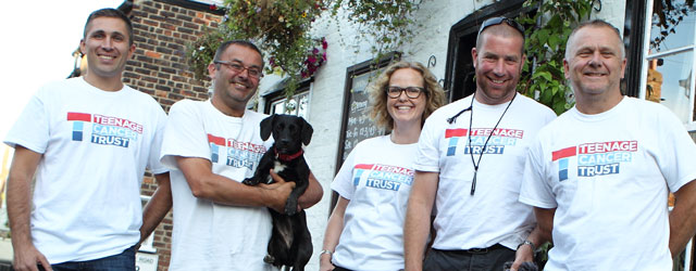 Local Walkers Raise Over £2000 For Teenage Cancer Trust