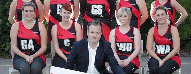 Netball Team Unveils New Club Sponsor
