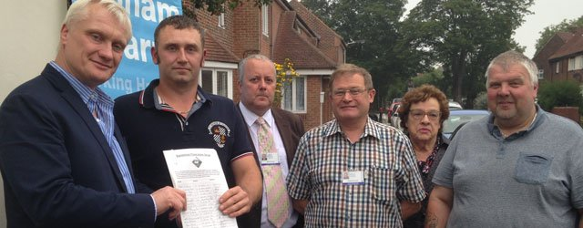 Petition from Swinemoor Flood Action Group Gets Support Of MP