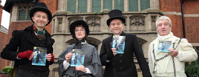 Cast Of A Christmas Carol Bring Some Early Christmas Magic To Beverley