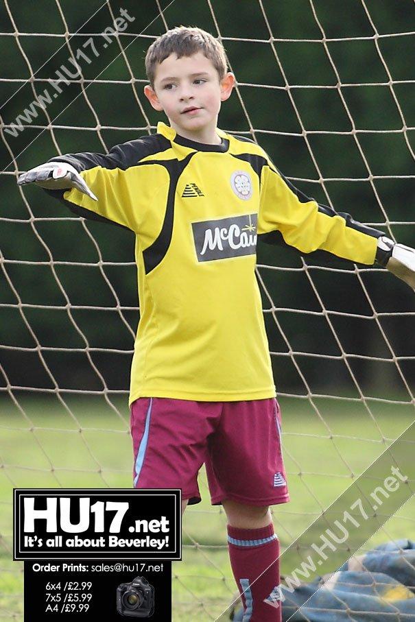 MATCH PHOTOS : AFC Tickton U8s Vs Hedon Rangers U8s